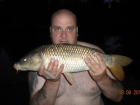 7lbs 5oz Common Carp from Millride Fishery using Dynamite Green Lipped Mussel.