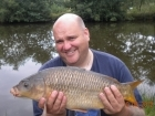 7lbs 6oz Common Carp from Millride Fishery using Dynamite Green Lipped Mussel.