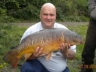 21lbs 13oz Mirror Carp from Bishops Bowl Mitre pool