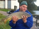 9lbs 6oz Common Carp from Calf Heath Reservoir using Mainline Cell.