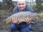 14lbs 6oz Common Carp from Turf pool using Mainline Grange CSL.