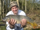 7lbs 9oz Common Carp from Calf Heath Reservoir using Mainline Grange CSL.