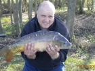 8lbs 9oz Mirror Carp from Calf Heath Reservoir using Mainline Grange CSL.