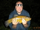 4lbs 11oz Tench from Local Syndicate using Mainline Sticky Toffee pop up dumbells.
