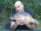 8lbs 5oz Mirror Carp from Washbrook using Mainline Active-8.