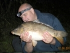 8lbs 11oz Leather Carp from Washbrook