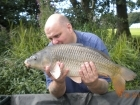 Glyn Jones 10lbs 2oz Common Carp from Turf pool using Mainline Grange CSL.