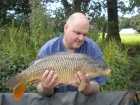 Glyn Jones 12lbs 14oz Common Carp from Turf pool using Mainline Grange CSL.