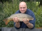 Glyn Jones 7lbs 1oz Common Carp from Turf pool using Mainline Grange CSL.