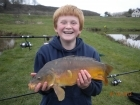 5lbs 8oz Mirror Carp from millride fishery using Mainline Cell.