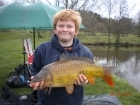 9lbs 13oz Common Carp from millride fishery using Mainline Cell.
