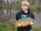 11lbs 8oz Mirror Carp from millride fishery using Mainline Cell.. MY NEW PB!!!!!!!!!!!!!!!!!!
