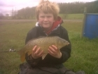 6lbs 4oz common carp from millride fishery using mainline cell.