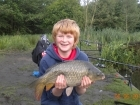 Dean Jones 8lbs 8oz Common Carp from turf pool using Mainline Cell.