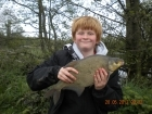 Dean Jones 4lbs 3oz Bream from turf pool using Mainline Cell.