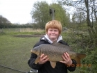 Dean Jones 9lbs 15oz Common Carp from turf pool using Mainline Cell.