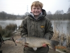 Dean Jones 10lbs 6oz Common Carp, dynamite baits pinapple and tigernut crunch.