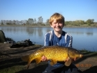 8lbs 7oz Common Carp from Calf Heath Reservoir using mainline new grange.
