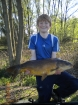 13lbs 14oz Mirror Carp from Calf Heath Reservoir using mainline new grange.