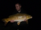 Mark Woolley 12lbs 0oz Mirror Carp from Great Linford Lakes