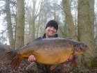 Mark Woolley 30lbs 12oz Mirror Carp from Great Linford Lakes. Article link - http://www.korda.co.uk/news/?id=329