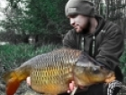 Mark Woolley 14lbs 14oz Common Carp from Great Linford Lakes Pines using CC Moore.. Video - http://www.youtube.com/watch?v=w4RHBYlTWMs