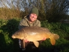 Mark Woolley 15lbs 0oz Mirror Carp from Great Linford Lakes using CC Moore.