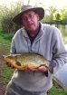Clive Wells 6lbs 14oz Crusian Carp Hybrid. Caught on mult maggot on size 12 hook with maggot feeder