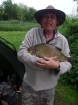 5lbs 8oz Bream from The Bridge Inn Fishery. Very dull and wet day. Bream caught on ledgered shrimp and garlic boilie.