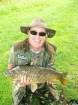 13lbs 15oz Common Carp from Dents of Hilgay using White Aniseed Pellet.