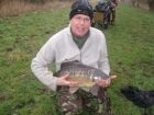 Clive Wells 13lbs 0oz Mirror Carp from Dents of Hilgay. Caught on sweetcorn on ledger.
