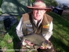Clive Wells 7lbs 2oz Bream. Caught on float with sweetcorn as bait on bottom.