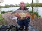 Andy Hyden 15lbs 6oz Mirror Carp, cell / grange.
