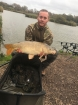 Dan Ward 15lbs 9oz Carp from Burnham on sea holiday village using Nash Pineapple.. 15lb.9oz common carp caught on the specimen lake.peg 25 straight off the opposite island.very strong winds and rain