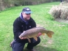 Jason Byatt 11lbs 8oz carp. HAIR RIGGED -HALIBUT PELLET