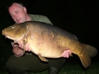 30lbs 3oz Mirror Carp from Billing Aquadrome using Mainline Grange CSL.