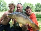 22lbs 15oz Mirror Carp from Etang de Cosse using Solar Club Mix (Squid & Octopus, Stimulin and Anchovy).