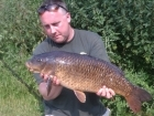 14lbs 8oz Common Carp from Willesley Lake using Fake dog biscuit (squidgy).. 2 fish from and lost one. Nothing on Grange through the night, but 2 and last one on zigs in the day. 6lb and and 14lb 8