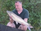9lbs 3oz Grass Carp from Mas Bas - Angling Lines Holidays using Quest Baits Rahja Spice.