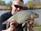 Kieron Axten 3lbs 0oz Bream from Burnham-on-sea Holiday Village using Mainline Grange CSL Milky Toffee.