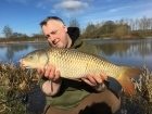 Kieron Axten 12lbs 0oz Common Carp from Cudmore Fisheries using Nash Scopex.. Great early season day ticket session with Joe, Tom and Dave. We all caught in the end and had some laughs and sunshine.