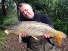 Kieron Axten 14lbs 0oz Common Carp from Burnham-on-sea Holiday Village using CC Moore Pacific Tuna.