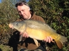 Kieron Axten 12lbs 0oz Mirror Carp from Burnham-on-sea Holiday Village