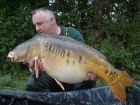 40lbs 13oz Mirror Carp from Commons Lake
