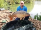27lbs 3oz Mirror Carp from Rookley Country Park