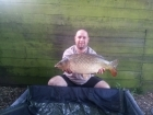 13lbs 6oz carp from pavyotts mill