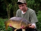 Josh Cox 19lbs 10oz Mirror Carp, JW BAITS.. cracking fish - brilliant fight - really nice condition - from the margin again!