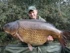 Mike Jones 40lbs 2oz 1dr common carp