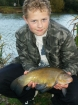 2lbs 8oz Tench from Rookley Country Park using Carp Company Icelandic Red Cranberry & Caviar.