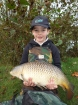 William Fletcher 13lbs 1oz Common Carp from Birch House Lakes using Quest Bait Special Crab.. Caught just 3 feet from rod tip using a Greys 1.75tc rod, Okuma Reel, Daiwa Line, Kryston Super mantis